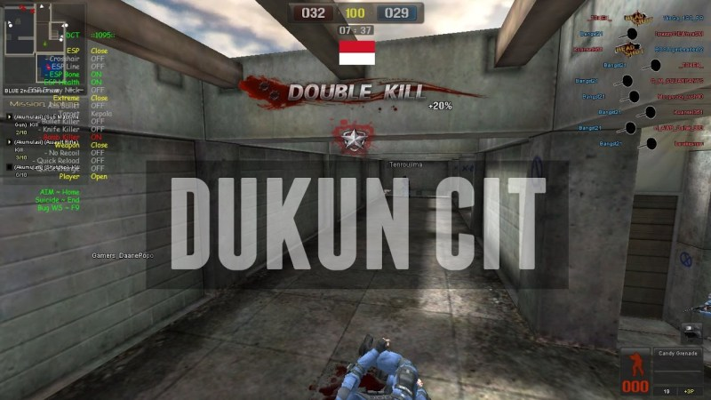 Dukun Cit: Sumbernya Cheat Point Blank Evolution di Asia