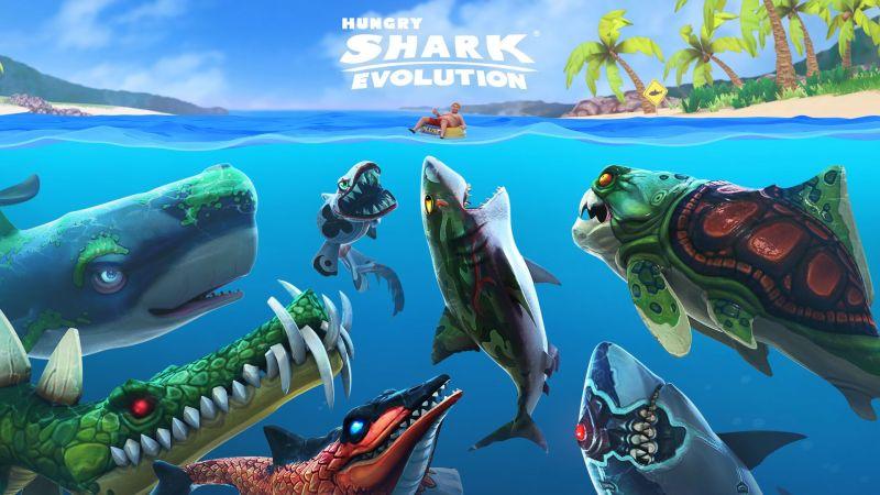 Hungry Shark Evolution: Game Arcade yang Bikin Candu!