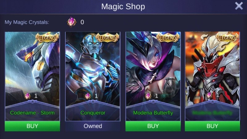 10 Skin Mobile Legends (ML) Termahal Cuma Buat Sultan!