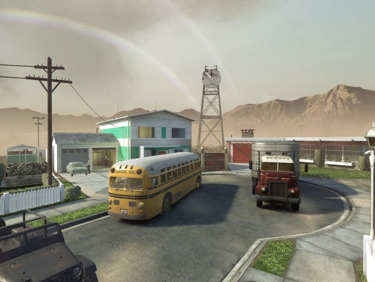 Map Nuke Town COD Mobile