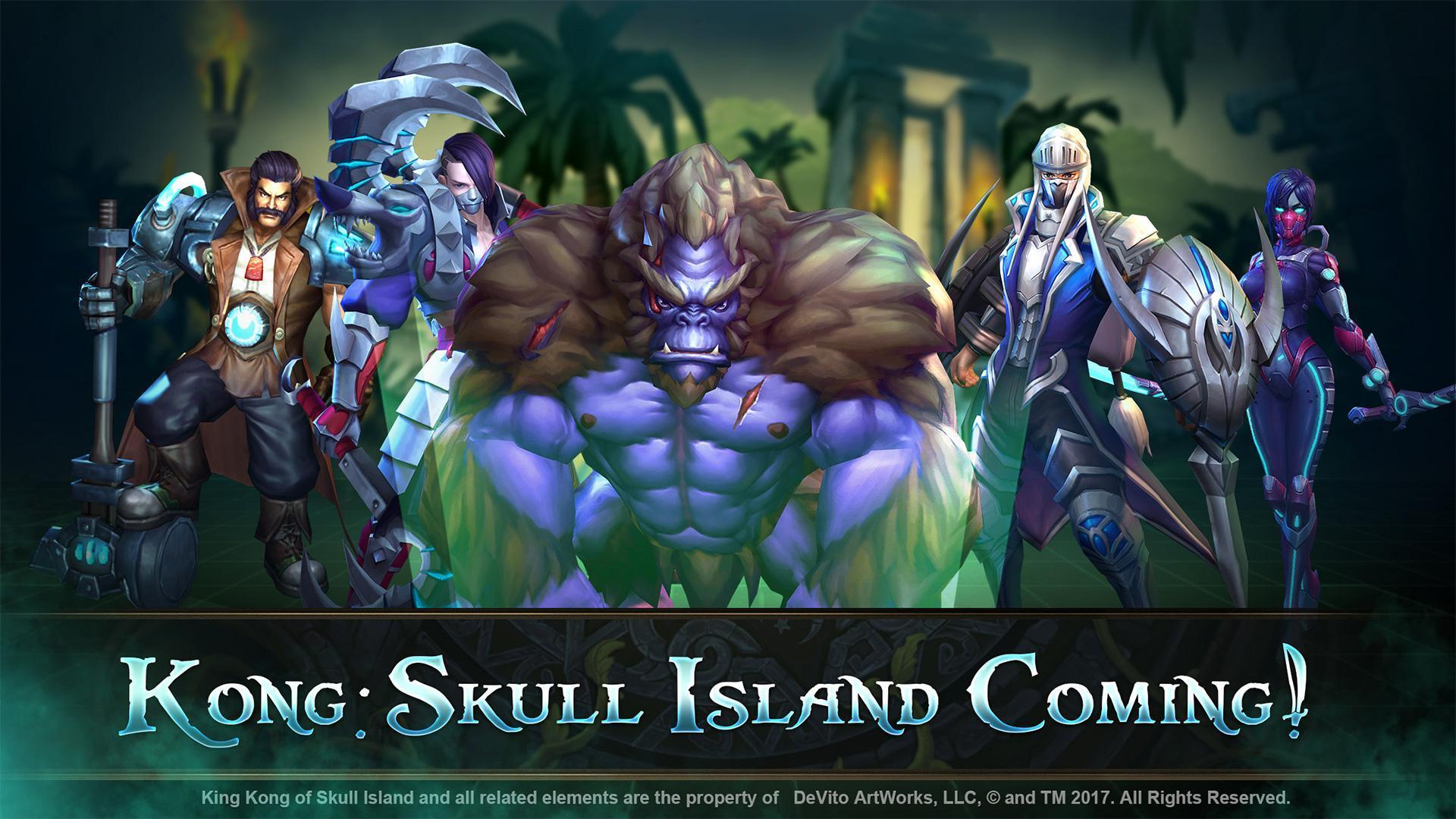 game moba offline - Legends Kong Skull Island