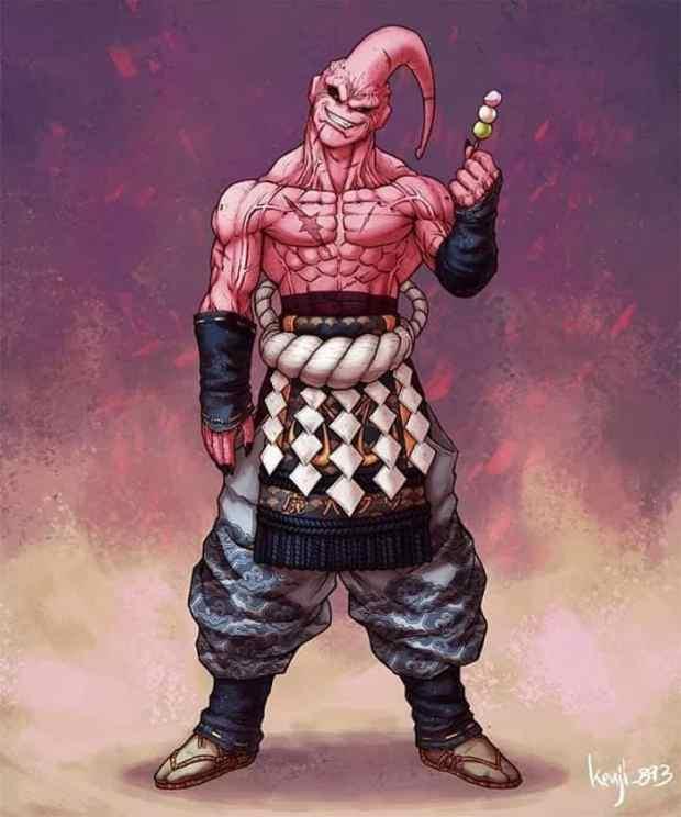 Samurai Super Buu