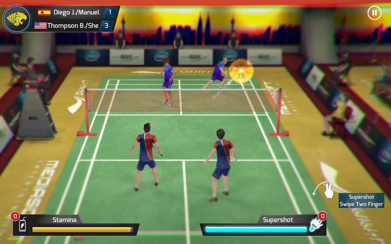 game bulu tangkis lining jump smash android