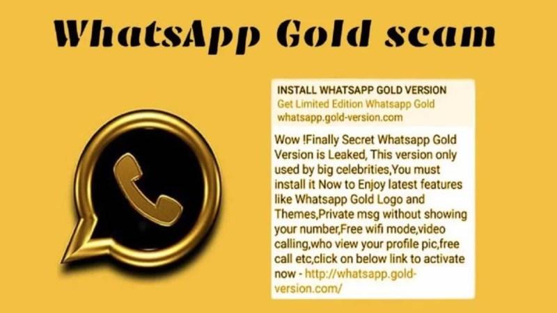 Penipuan WhatsApp Gold Marak Lagi di Group WA, Awas Hoax!