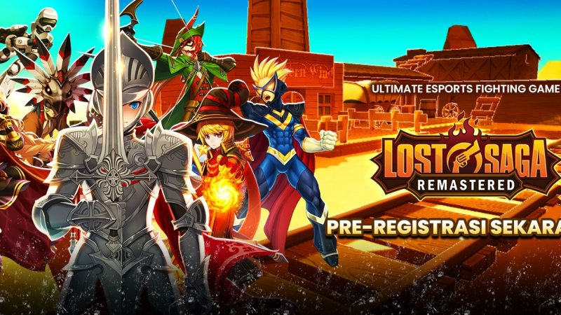 Siap Rilis Global, Lost Saga Remastered Buka Pra Registrasi!