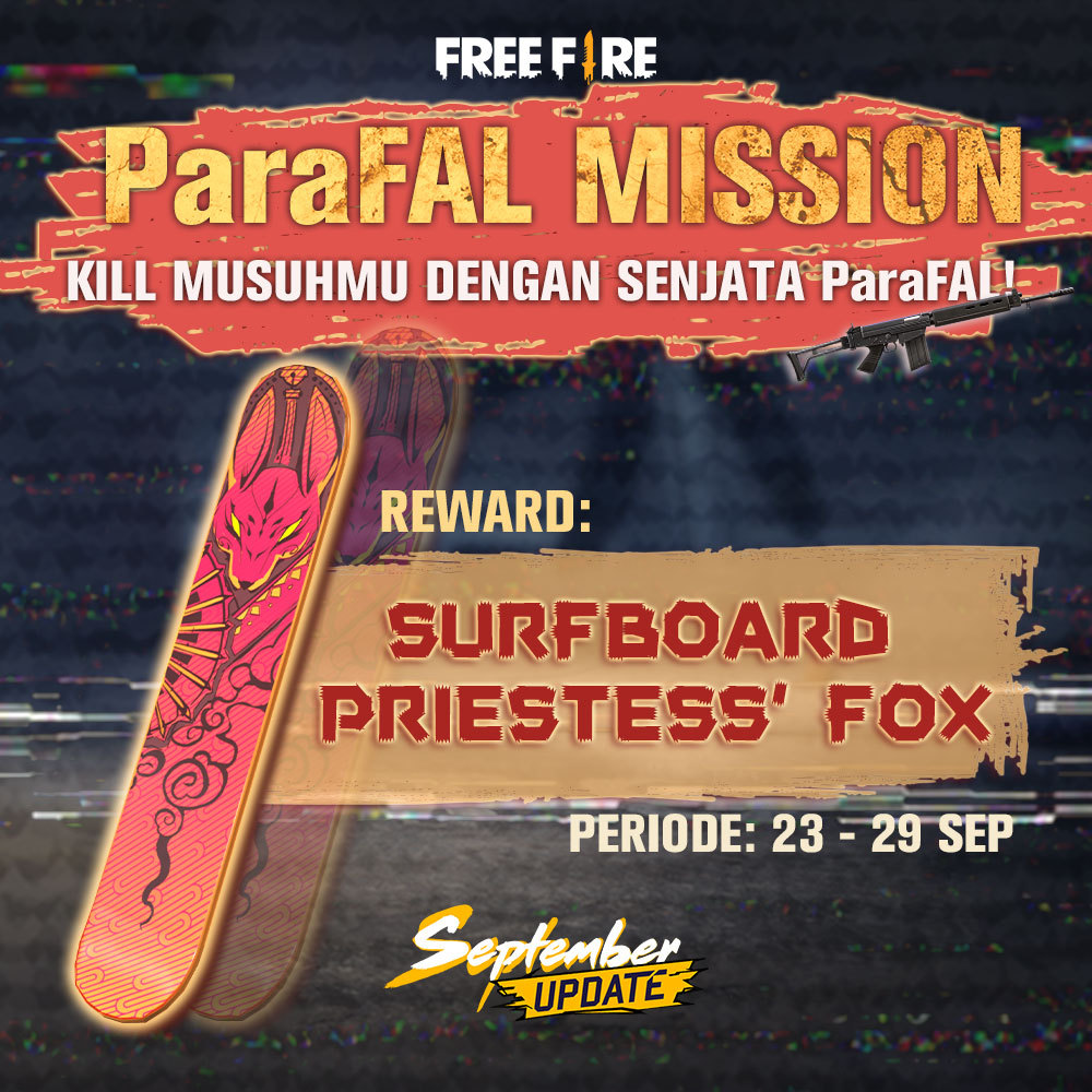 Event Khusus ParaFAL Free Fire.