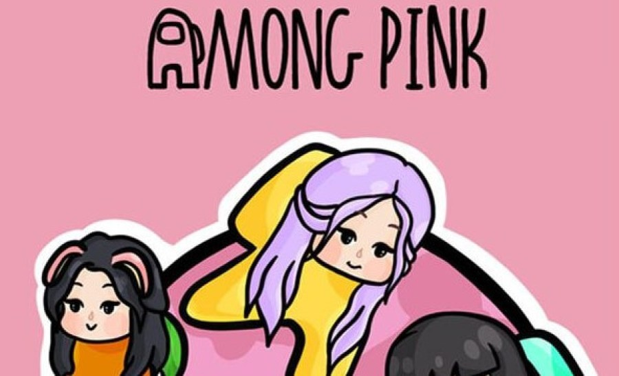 Fitur Among Us Pink Mod Apk