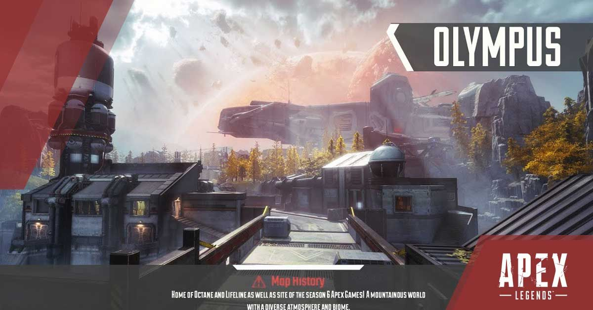 Apex Legends Season 7 Map Olympus
