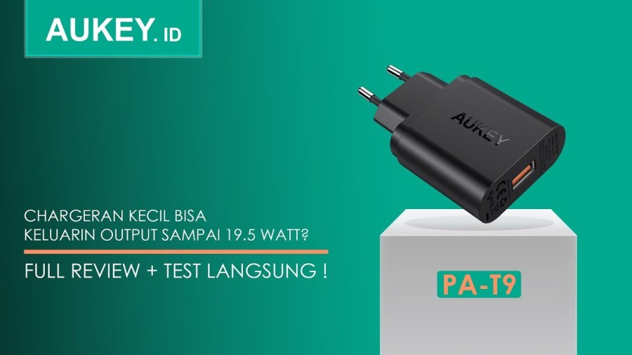 charger Aukey terbaik PA-T9