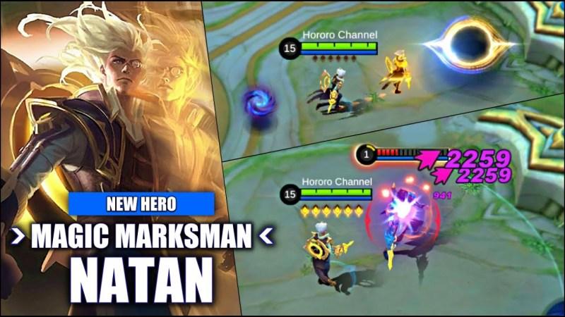Melirik Skill Hero Marksman Baru Mobile Legends, Natan