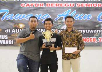 Tiga mantan atlet club Junior Legend Banyuwangi