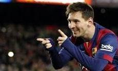 Permalink ke Messi Hattrick, Barcelona Peringkat Kedua