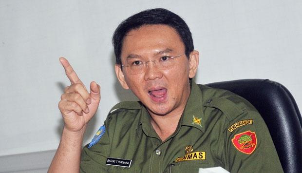 Gubernur DKI Jakarta Basuki Tjahaja Purnama (Ahok) Foto: tempo.co