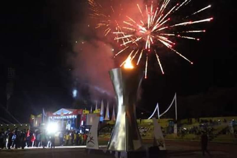 Opening Ceremony Pekan Olahraga Provinsi Sumatera Barat.