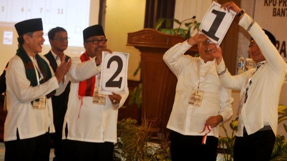 Calon Gubernur Banten Rano Karno