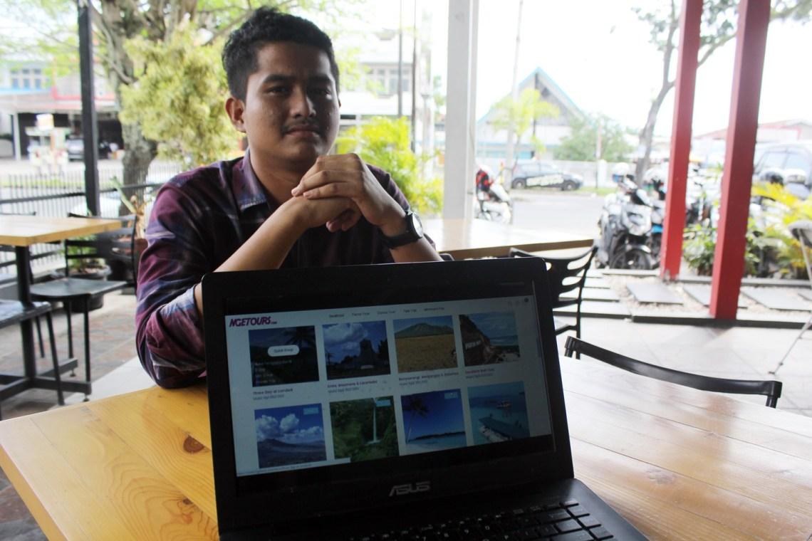 Founder dan CEO Ngetours.com, Ikhwan. Foto : Istimewa