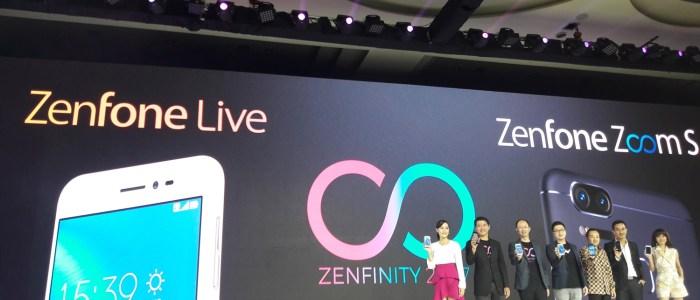 Asus Zenfone Live dan Zoom S Resmi Hadir di Indonesia