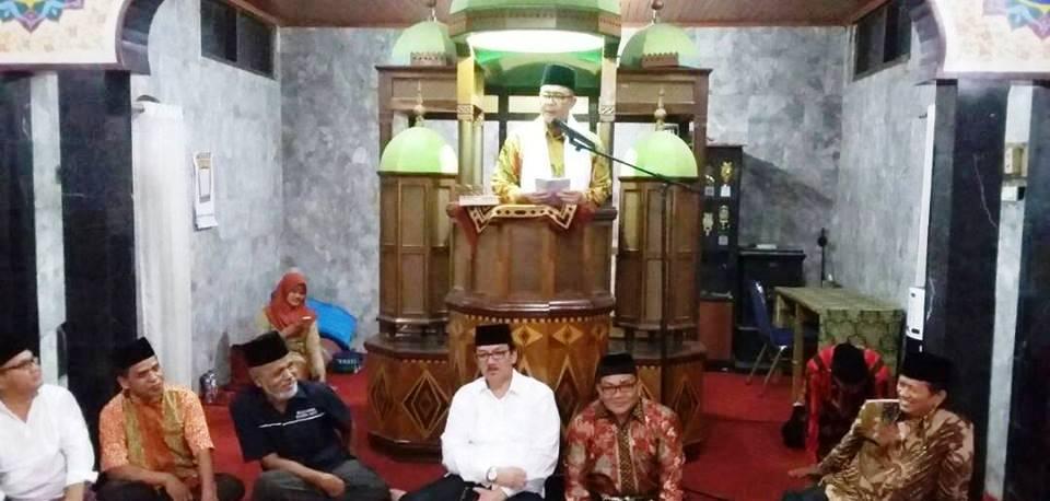 Nasrul Abit saat Safari Ramadan ke Batipuah