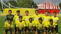 Sriwijaya U-19 siap berlaga dengan Semen Padang U-19 di Gor Agus Salim Padang. Foto.Net.