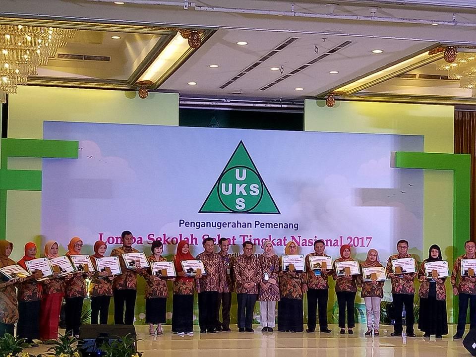 MTsN 1 Payakumbuh Sumatra Barat tahun ini berhasil menjadi juara satu Lomba Sekolah Sehat Tingkat Nasional tahun 2017