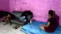 wanita yang bekerja di cafe berhasil di bawa ke Mako Pol PP Padang/@tanharimage