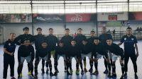 Skuat tim futsal Limapuluh Kota. Sumatera Barat.