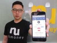 CEO NuMoney Indonesia, Andika Sutoro Putra menunjukan platform resmi NuMoney yang sudah bisa digunakan oleh masyarakat Indonesia. Foto : Istimewa