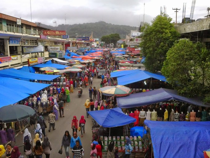 Ilustrasi. Pasar Raya Padang.