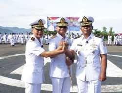 Danlantamal II Laksma TNI Agus Sulaeman Pimpin Sertijab Danlanal Nias