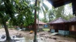 Salah satu lokasi yang terdampak Tsunami Perairan Selat Sunda. Foto : Tribunnews
