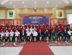 Wako Hadiri Pelantikan Pengurus PSSI Askot Solok