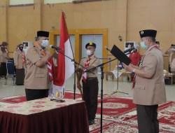 Nasrul Abit Lantik Wako Solok Sebagai Ketua Majelis Pembimbing Kwarcab Pramuka