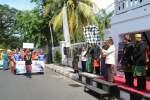 Pawai Budaya Festival Pesona Moyo