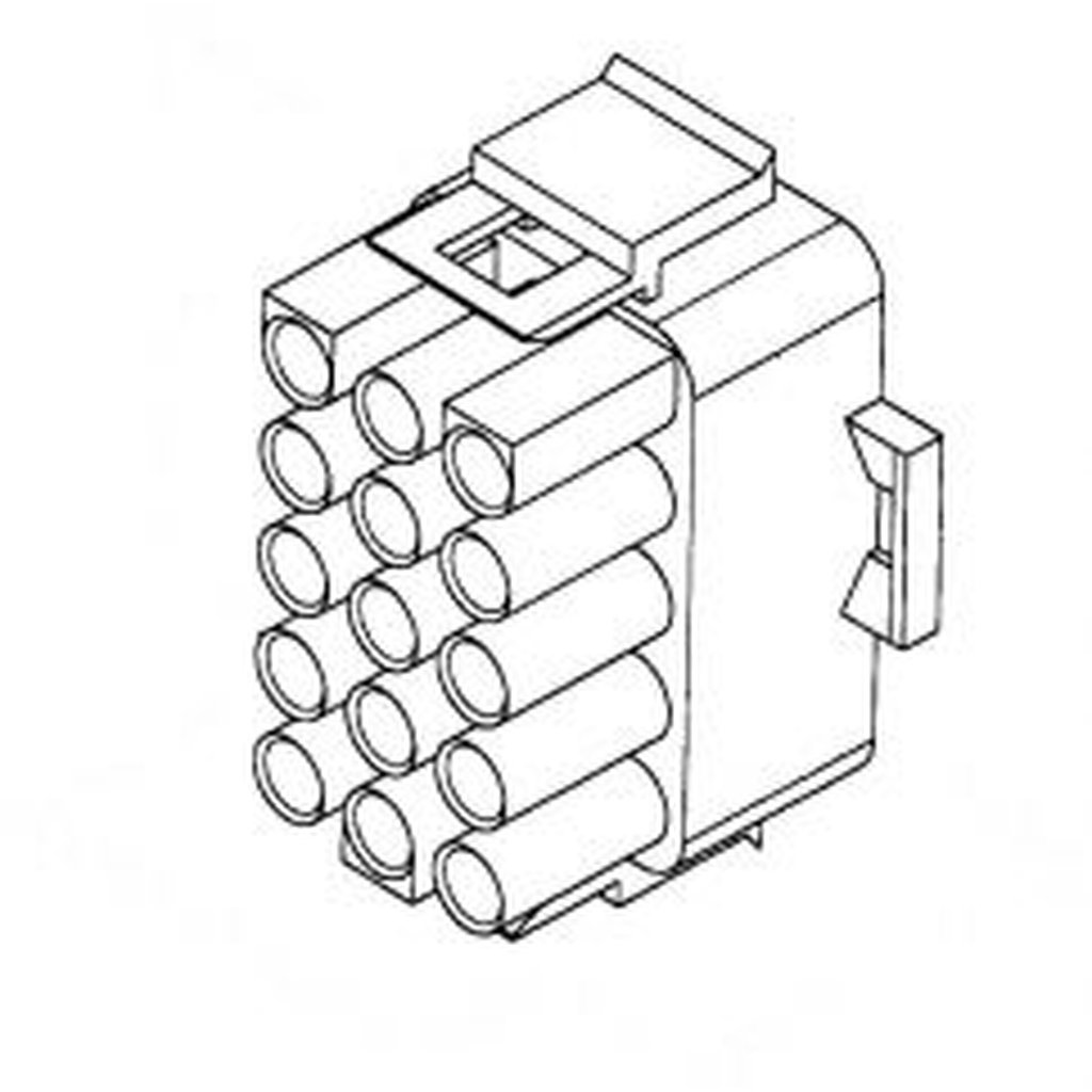 Up Lok Male Connector 15 Pins