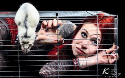Shooting mit Brina und Ratten