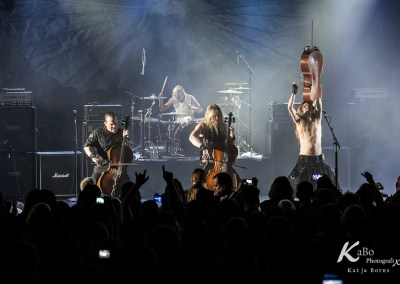APOCALYPTICA – 70000 tons of Metal 2015