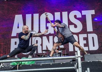 AUGUST BURNS RED – With Full Force 2016