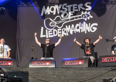MONSTER OF LIEDERMACHING – Reload Festival 2016