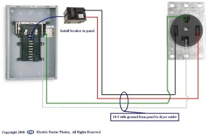 220 Dryer Plug Wiring Diagram