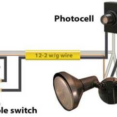 Photocell Switch Trailer Light Wire Diagram Lighting Contactor Wiring With