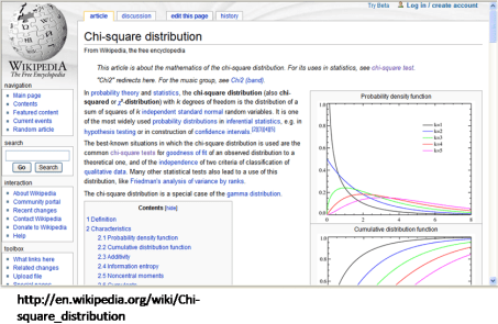 "from Wikipedia's ""chi-squared distribution"" page"