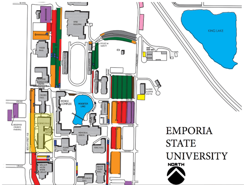 2016 Conference Map