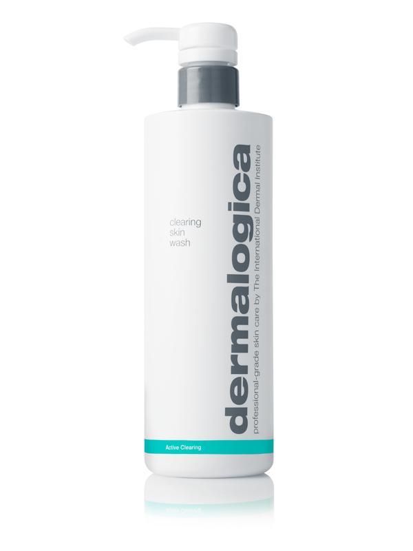 Dermalogica clearing skin wash kabuki hair