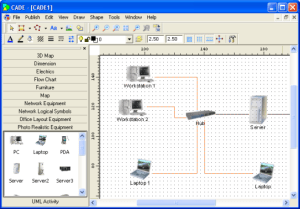 Programa gratuito para hacer diagramas de redes  Kabytes