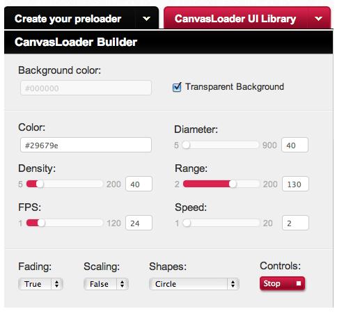cargando canvas html5