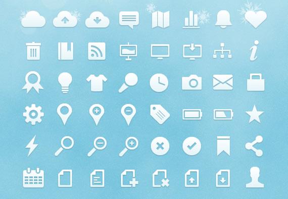 Iconos Web vectoriales