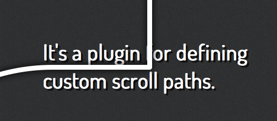 scroll path con jQuery