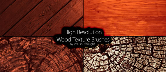Wood Brush Set