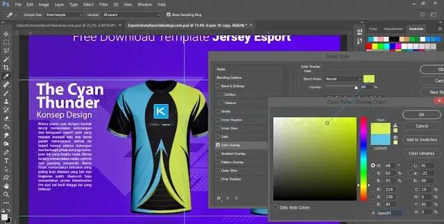 Download Download Mockup Template Jersey Esport Gaming Depan ...