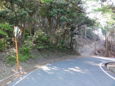 鶴ヶ岳・登山口